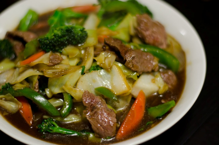 Beef Stir Fry with Thai Basil