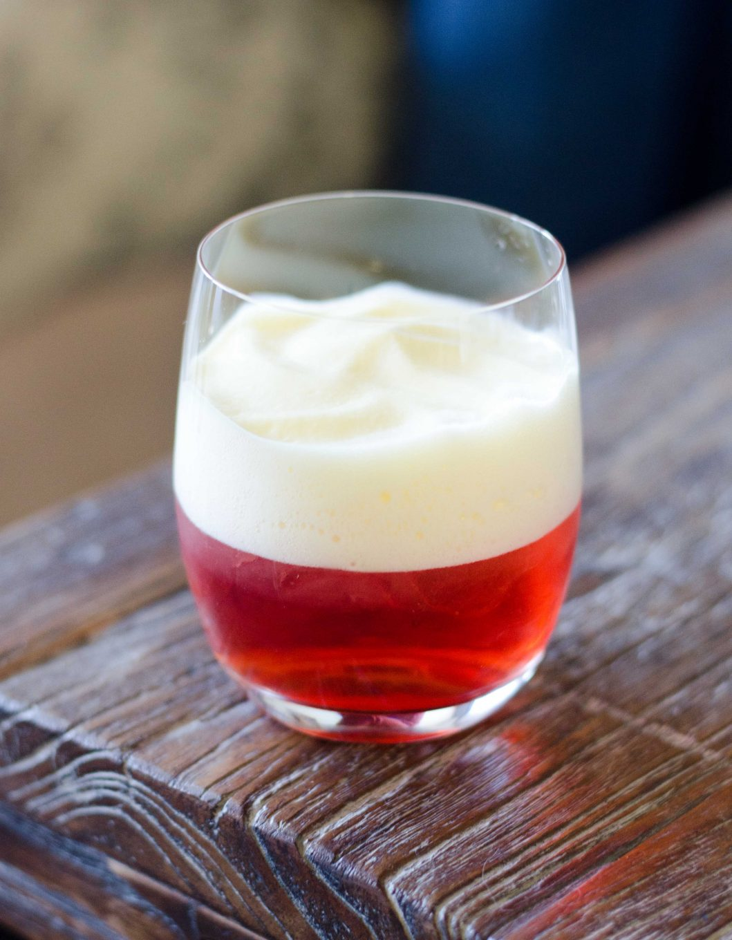 Negroni with Orange and Prosecco Foam
