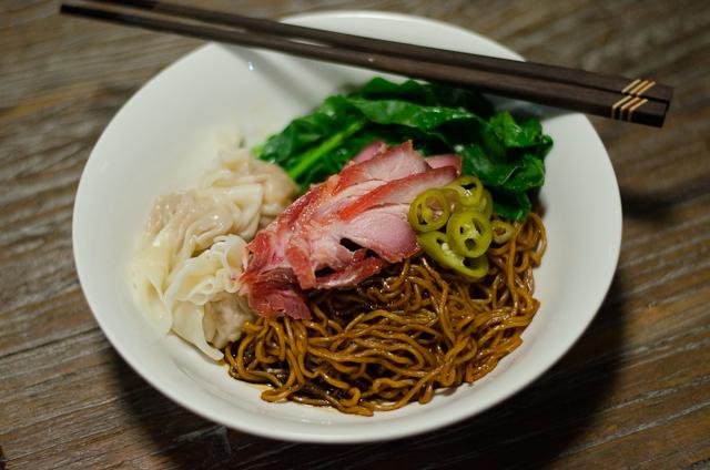 Wan Tan Mee (Kon Loh Mee)