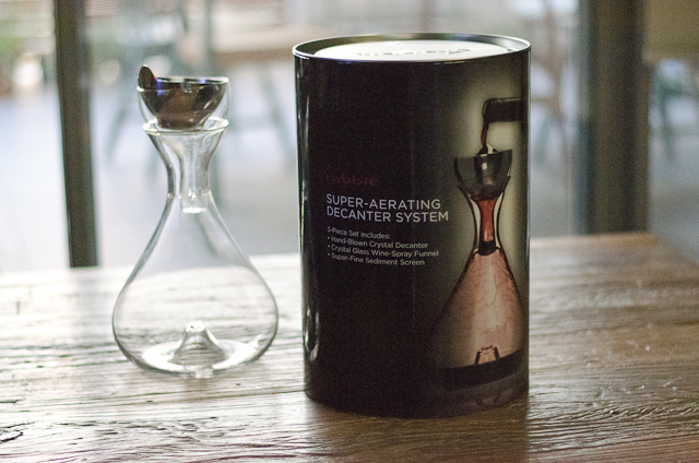 Review: Metrokane Rabbit Decanter Super Aerating System