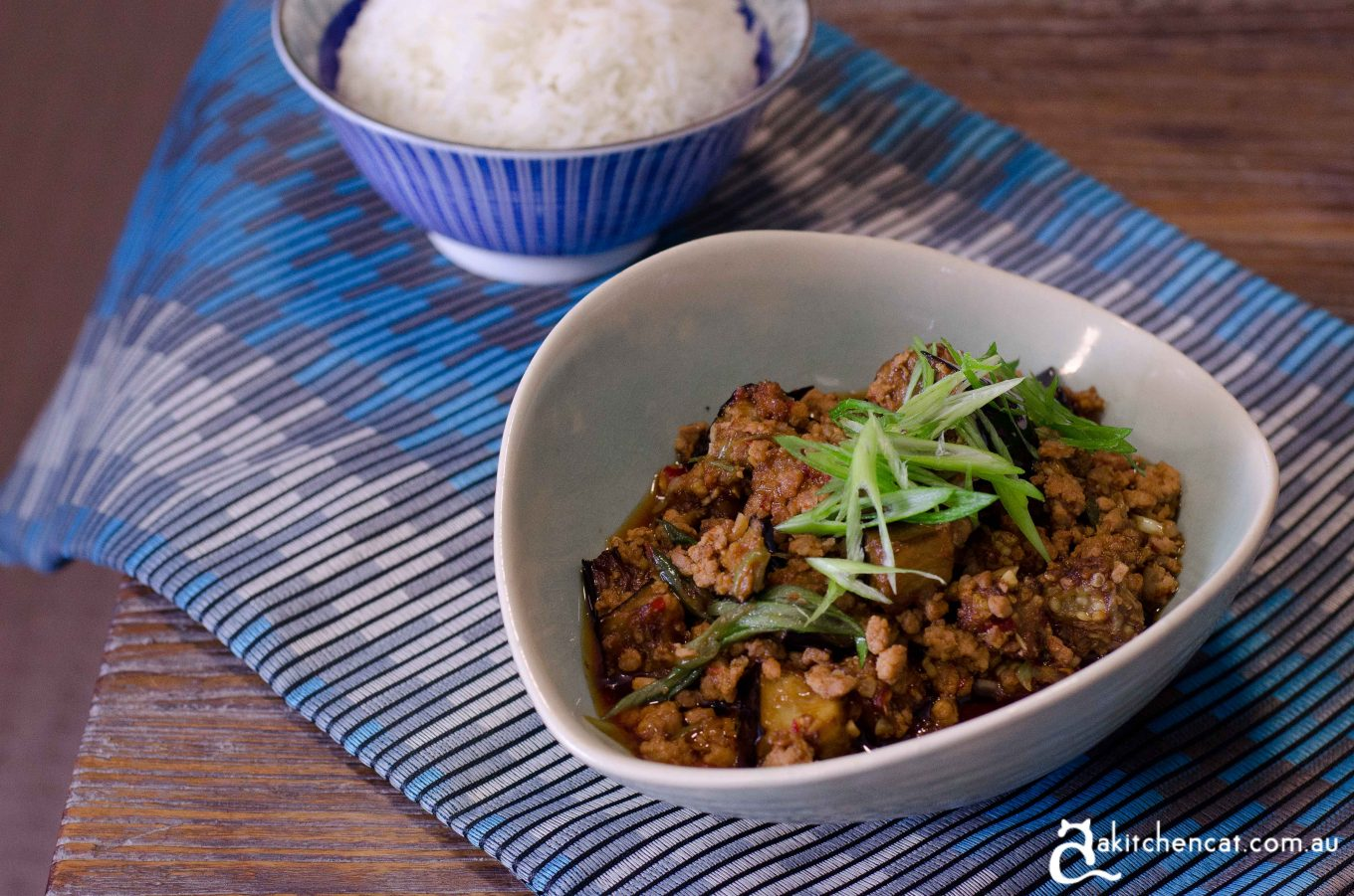 Stir-fried Pork and Eggplant