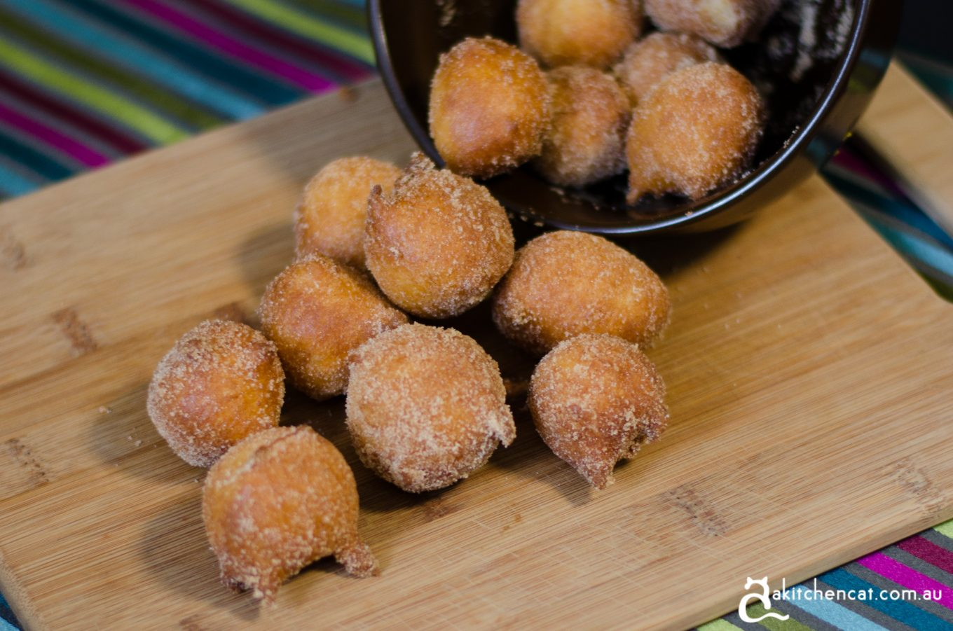 Old English Doughnuts with Cinnamon Sugar