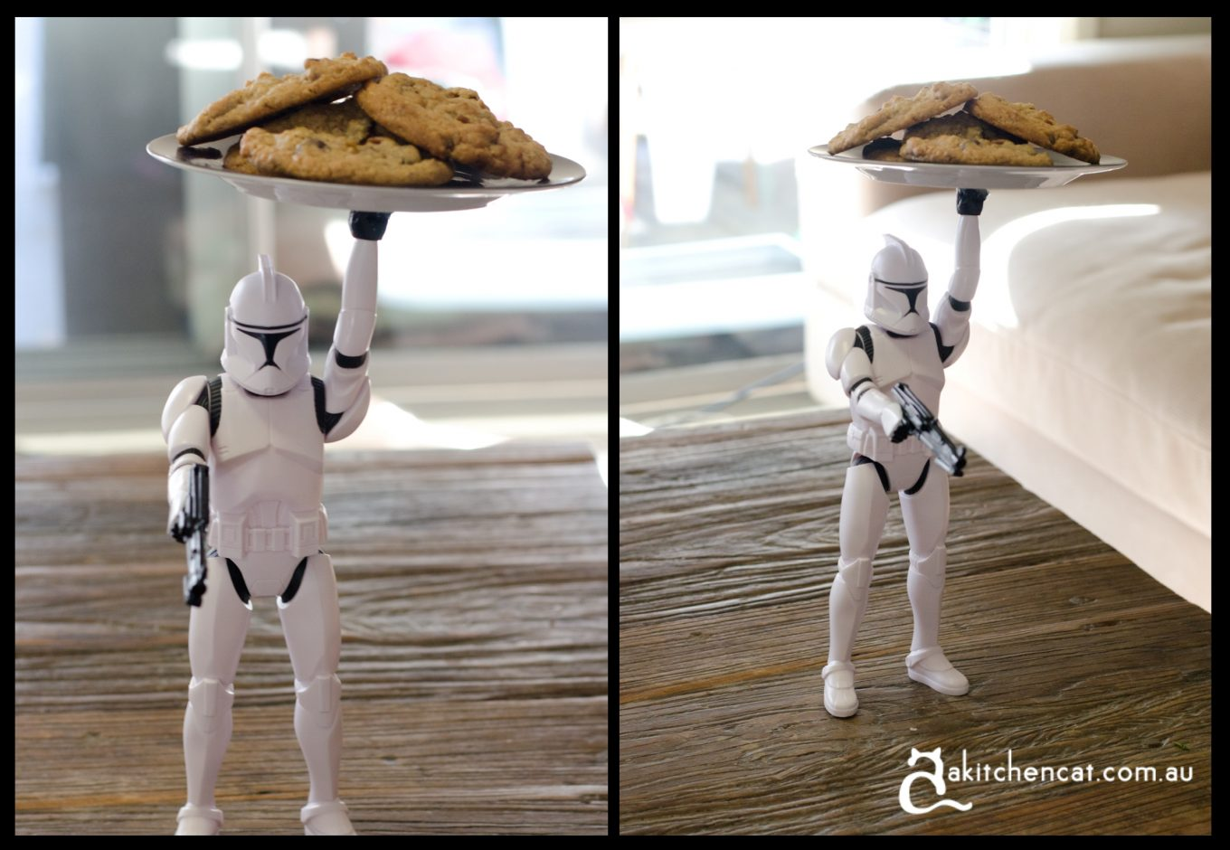 clone trooper cookie plate