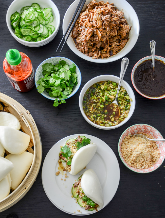 Gua Bao – Pulled Pork Steamed Buns