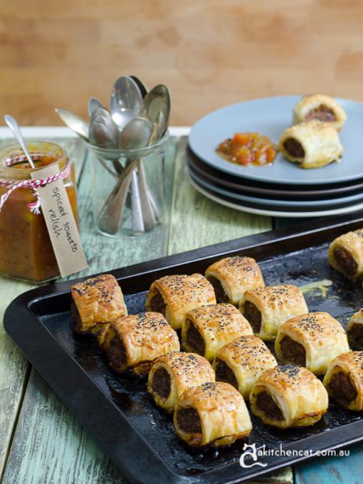 spiced sausage rolls