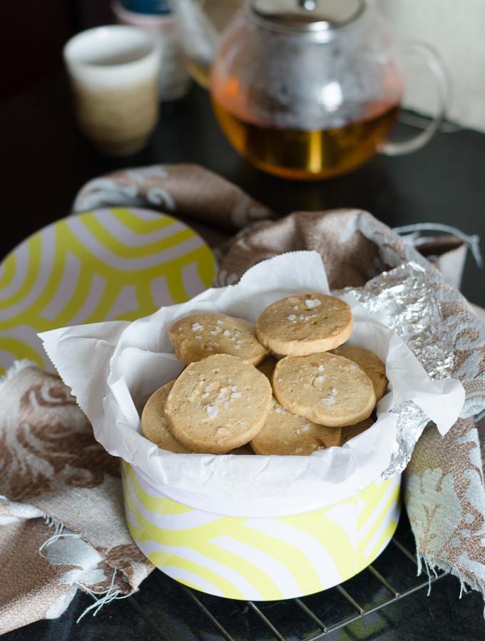 Peanut Butter & Sea Salt Biscuits