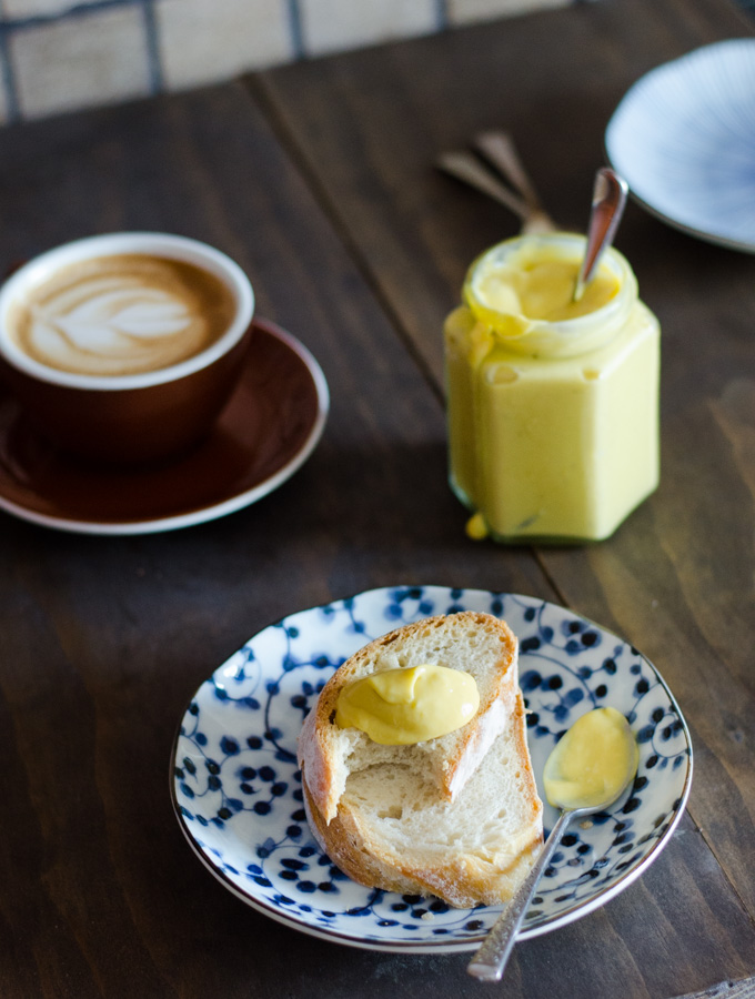 Five-minute Mango and Lime Curd