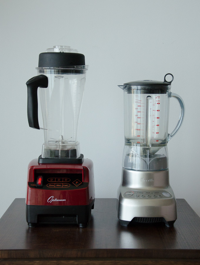 breville vs optimum blender