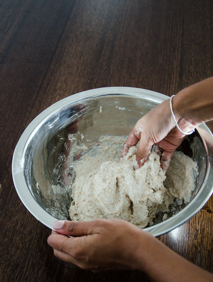 sourdough-mixing