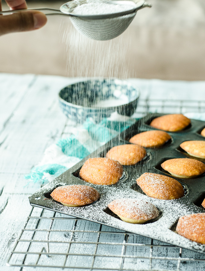 Honey & Coconut Madeleines