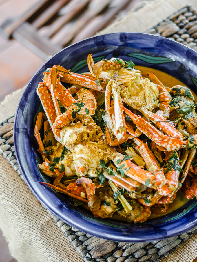 Kalyani's Sri Lankan Crab Curry