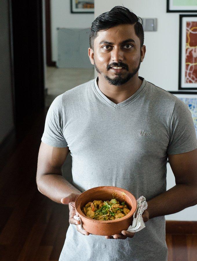 sri lankan prawn curry