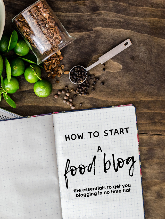 Step by Step: The Short Version of How to Start a Food Blog